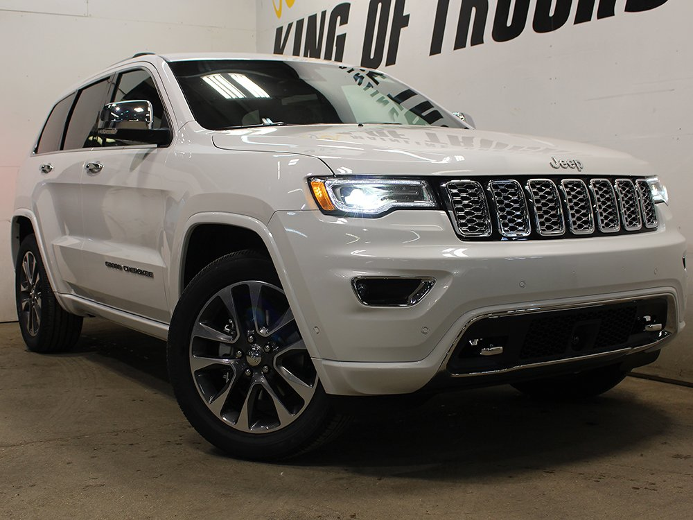 new 2018 jeep grand cherokee overland gps nav heated. Black Bedroom Furniture Sets. Home Design Ideas