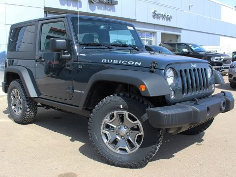 New 2018 Jeep Wrangler JK Rubicon | GPS NAV | Keyless Entry | Bluetooth | With Navigation & 4WD