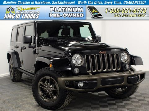 Pre-Owned 2017 Jeep Wrangler Unlimited Leather