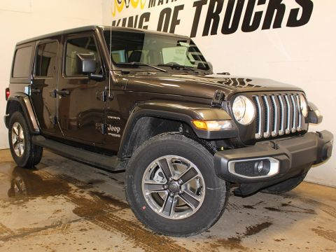 New 2018 Jeep Wrangler Unlimited Sahara | Bluetooth | Remote Start | Touchscreen | 4WD