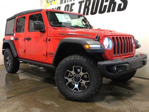 New 2018 Jeep Wrangler Unlimited Rubicon | Touchscreen | Keyless Entry | Back-Up Camera | 4WD