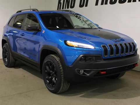 New 2018 Jeep Cherokee Trailhawk | Back-Up Camera | Power Liftgate | Keyless Entry |