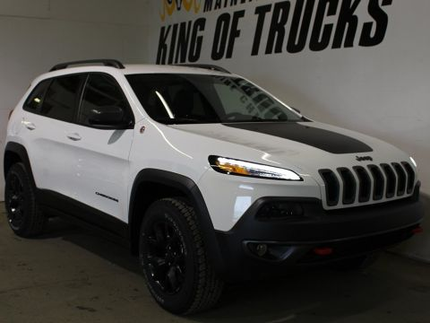 Pre-Owned 2018 Jeep Cherokee Trailhawk | Heated Seats | Speed Control | Bluetooth |