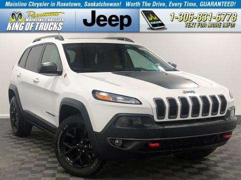 New 2018 Jeep Cherokee Trailhawk Leather Plus