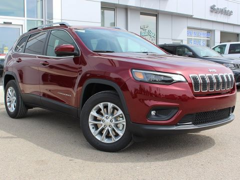 New 2019 Jeep Cherokee North | Full Sunroof | Heated Seats | Power Liftgate |