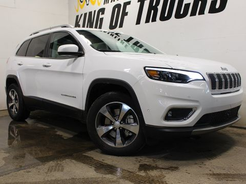 New 2019 Jeep Cherokee Limited | FULLY LOADED | GPS NAV | Full Sunroof |