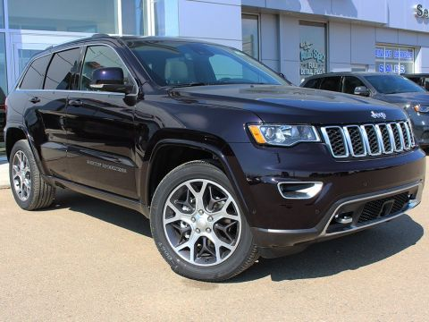 New 2018 Jeep Grand Cherokee Limited | GPS Nav | Blind Spot/Cross Path Detection |