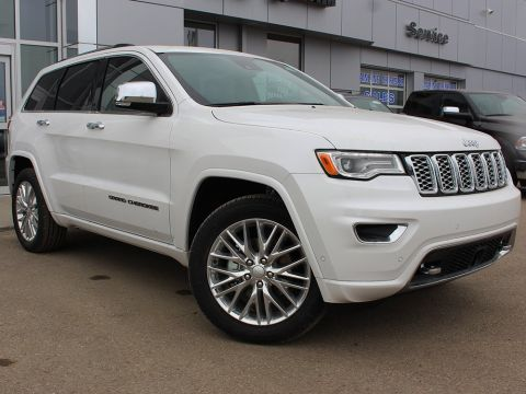 New 2018 Jeep Grand Cherokee Overland | Heated Seats | Power Liftgate | Back-Up Camera |