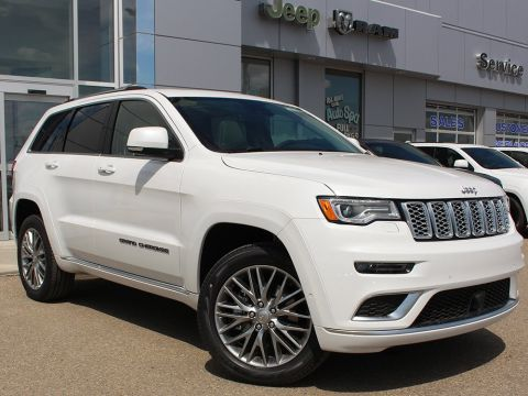 New 2018 Jeep Grand Cherokee Summit | Eco-Diesel | Ventilated Seats | Back-Up Camera |