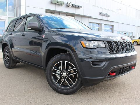 New 2018 Jeep Grand Cherokee Trailhawk | GPS NAV | Power Sunroof | Adaptive Cruise Control |