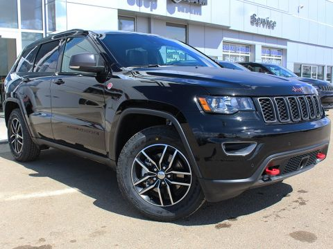 New 2018 Jeep Grand Cherokee Trailhawk | GPS NAV | Power Sunroof | Back-Up Camera |
