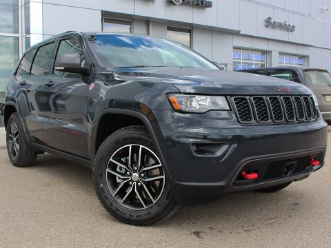 New 2018 Jeep Grand Cherokee Trailhawk | GPS NAV | Power Sunroof | Bluetooth |