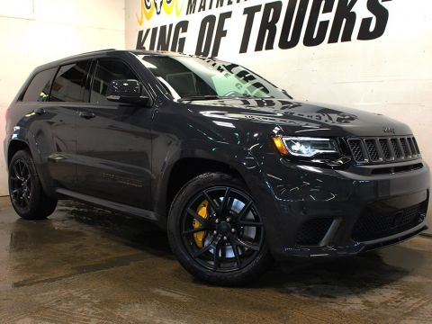 New 2018 Jeep Grand Cherokee Trackhawk | Back-Up Camera | Power Liftgate | Heated Seats |