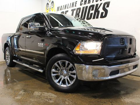 Pre-Owned 2015 Ram 1500 Crew Cab Pickup Laramie Limited 4WD