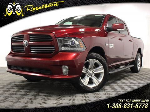 Pre-Owned 2017 Ram 1500 Leather