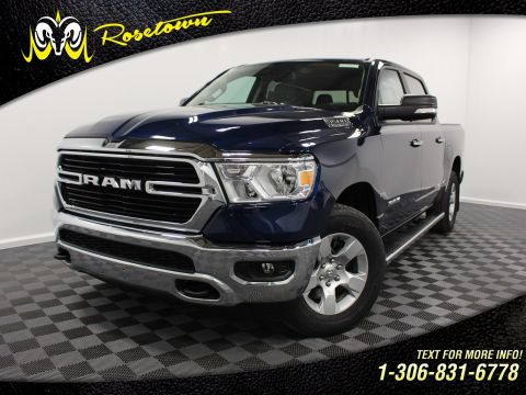 New 2019 Ram 1500 Big Horn | Flaps and Boards | Bluetooth | Locking Tailgate |