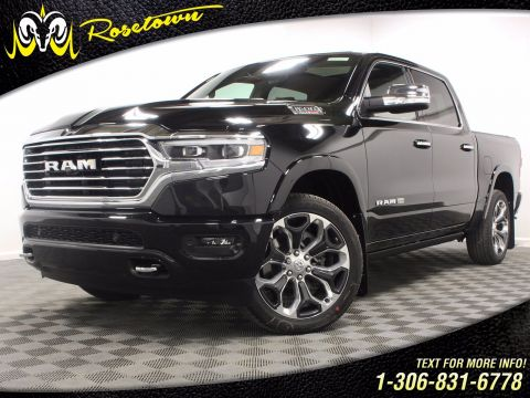 New 2020 Ram 1500 Longhorn | Ventilated Seats | Apple CarPlay | Backup Camera |