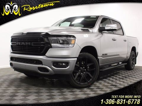 New 2020 Ram 1500 Sport | Remote Start | Heated Steering Wheel | Running Boards |