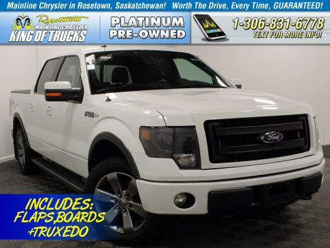 Pre-Owned 2014 Ford F-150 Leather
