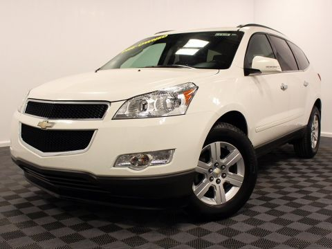 Pre-Owned 2012 Chevrolet Traverse Cloth