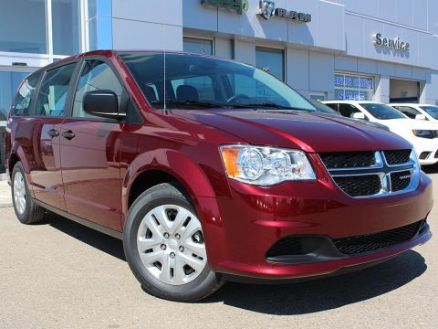 New 2018 Dodge Grand Caravan CVP/SXT | Back-Up Camera | Keyless Entry | Auxiliary Outlet |