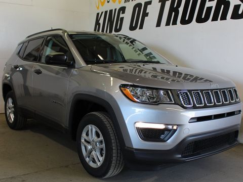 New 2018 Jeep Compass Sport | Back-Up Camera | Heated Seats | Bluetooth |