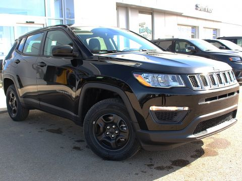 New 2018 Jeep Compass Sport | Back-Up Camera | Heated Seats | Touchscreen |