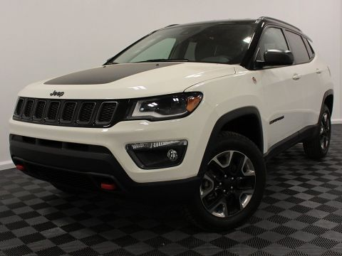New 2018 Jeep Compass Trailhawk | GPS NAV | Power Liftgate | Rain Sensitive Wipers |