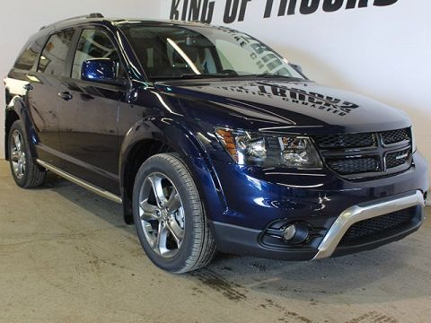 Pre-Owned 2017 Dodge Journey Crossroad | DVD | NAV | Keyless Entry | Back-Up Camera |