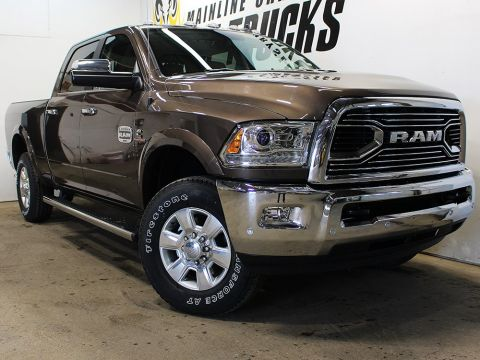 New 2018 Ram 3500 Longhorn | GPS NAV | Power Sunroof | Bluetooth | 4WD