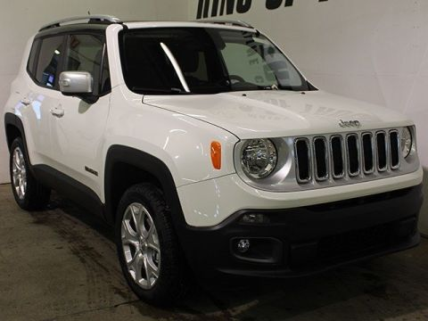 New 2016 Jeep Renegade Limited | Back-Up Camera | Keyless Go | Remote Start | With Navigation & 4WD