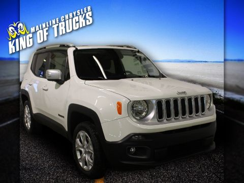 Pre-Owned 2016 Jeep Renegade Limited With Navigation & 4WD